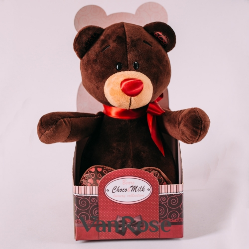 "Медведь в коробочке ""Choco Milk"""