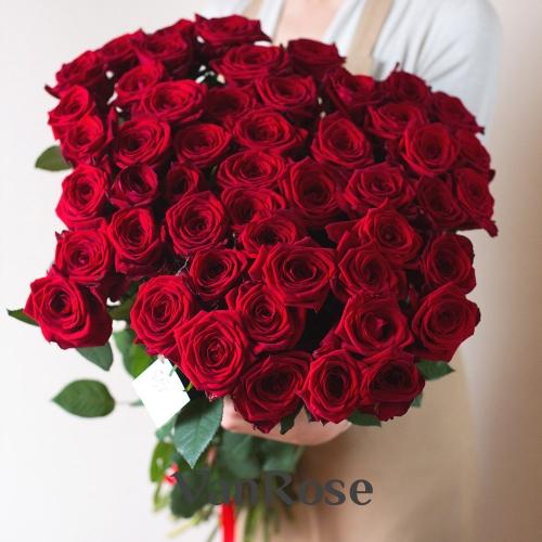 51 красная роза Рэд Наоми